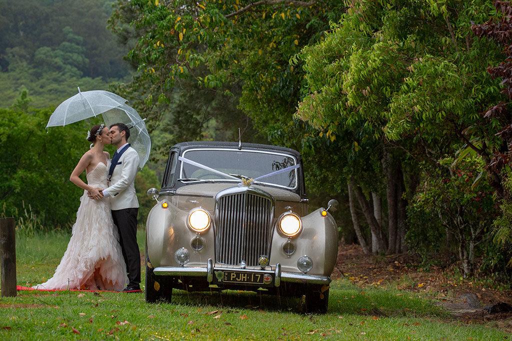 Sunshine coast Wedding with Birti the Bentley by Malenyweddingphotography