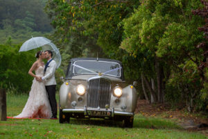 Sunshine coast Wedding with Birti the Bentley by Malenyweddingphotography