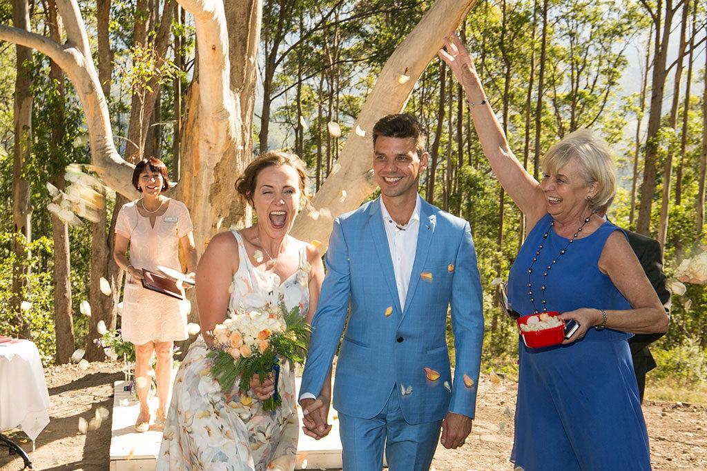 Sunshine coast wedding Merlin celebrant by Malenyweddingphotography