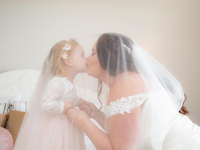 BrideandflowergirlbyMalenyWeddingPhotography