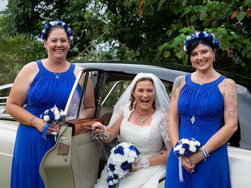 BrideandbridesmaidsbyMalenyWeddingPhotography