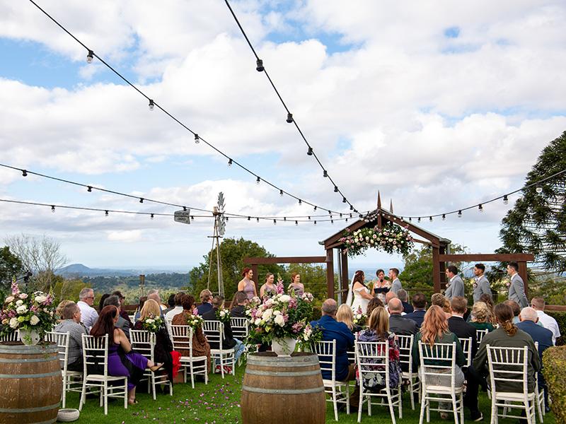 WeddingCeremonyFlaxtonGardensbyMalenyWeddingPhotography